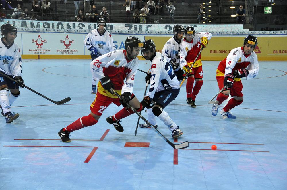 Streethockey-WM In Zug