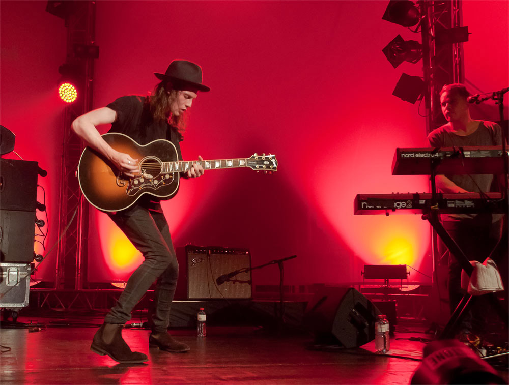 James Bay – Das Lange Warten Am Blue Balls In Luzern